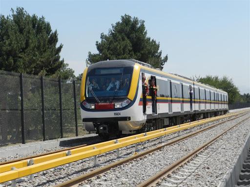 مطالعات ارتعاشی خط 1 مترو تهران