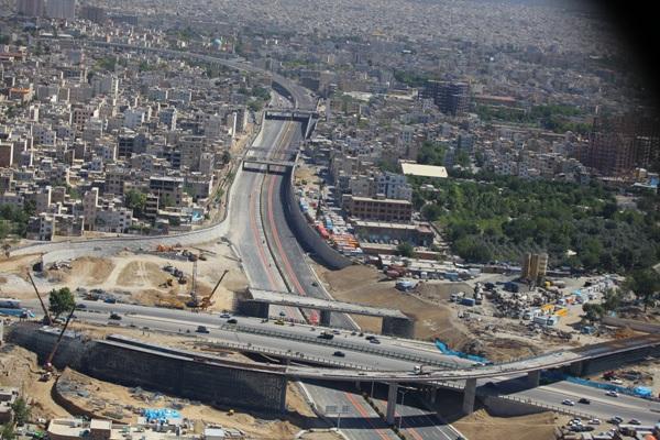 پروژه بازسازی پل های شرق تهران